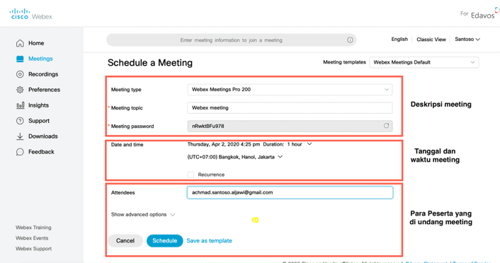 webex meetings 4 r